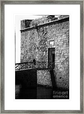 Paphos Castle Framed Print by John Rizzuto