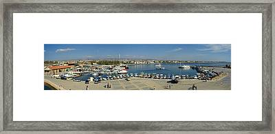 Paphos Harbour Framed Print by Donald Buchanan