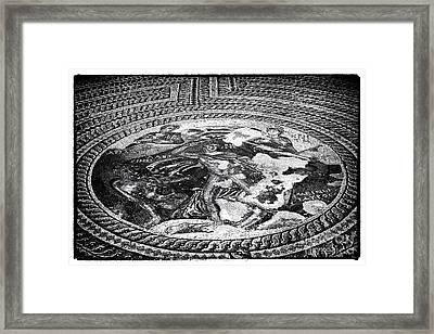 Paphos Mosaic Framed Print by John Rizzuto