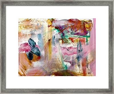 Papillon Et Zigouigoui  Framed Print