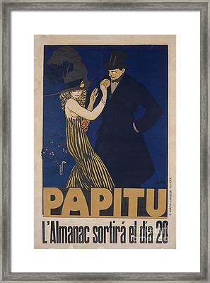 Papitu Framed Print by MotionAge Designs