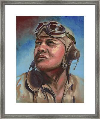 Pappy Boyington Framed Print