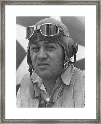 Pappy Boyington - Ww2 Framed Print by War Is Hell Store