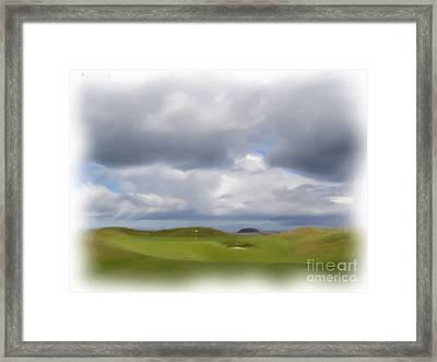 Par 3 Ireland Framed Print by Jan Daniels