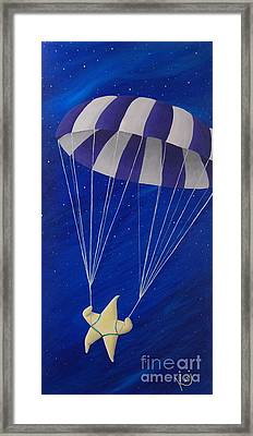 Para-shooting Star Framed Print
