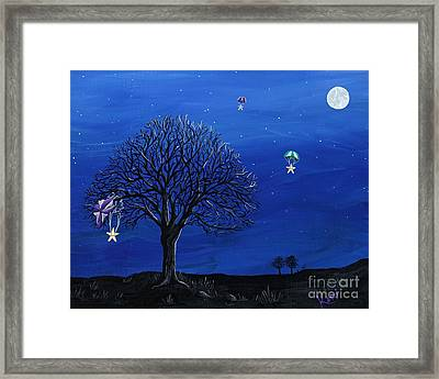 Para-shooting Star Trio Framed Print