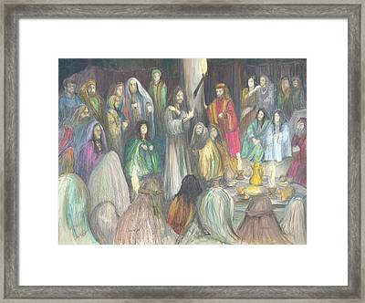 Parables Framed Print by Rick Ahlvers