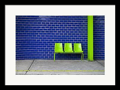 Seat Photographs Framed Prints