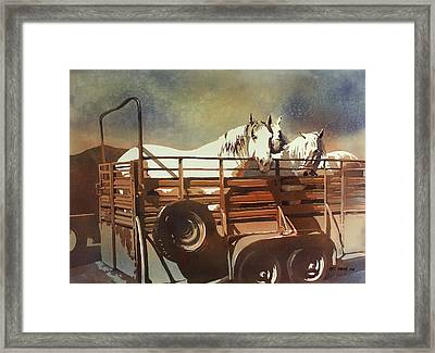 Parade Day Framed Print by Kris Parins
