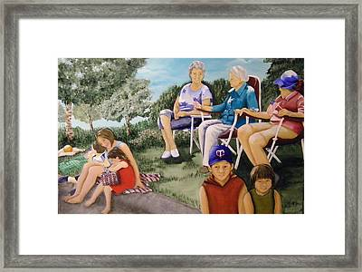 Parade Day Framed Print by Terry Honstead