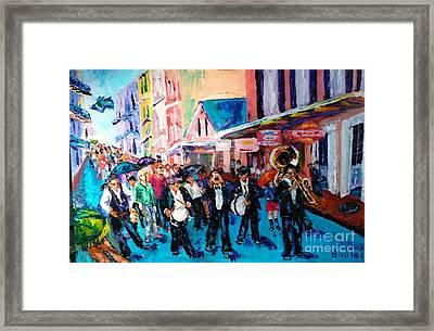 Parade For Joe Framed Print
