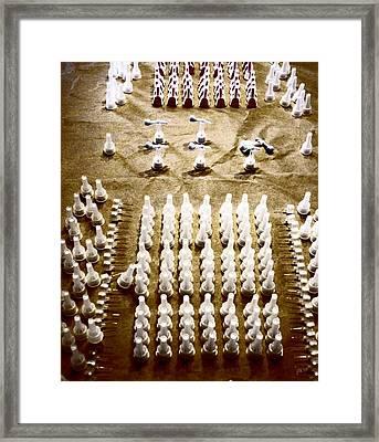 Parade Grounds Framed Print