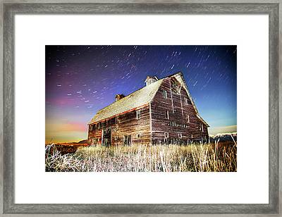 Parade Of Stars Framed Print by Bryan Moore