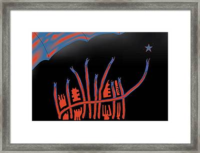 Parade Route Framed Print