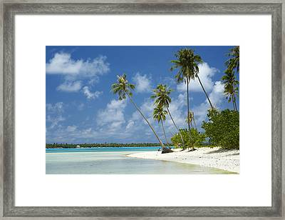Paradise - Maupiti Lagoon Framed Print by Kyle Rothenborg - Printscapes
