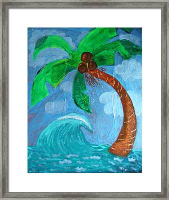 Paradise Framed Print by Amy Parker