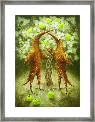 Paradise Apples Framed Print by Lolita Bronzini
