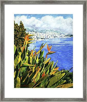 Paradise Bay Framed Print