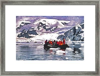 Paradise Bay  Framed Print by Dennis Cox
