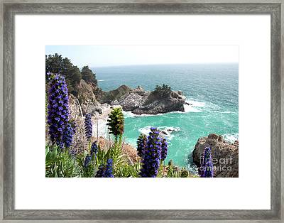Paradise Cove Framed Print by Digartz - Thom Williams