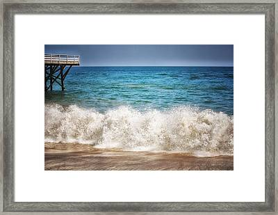 Paradise Cove Framed Print by Tricia Marchlik