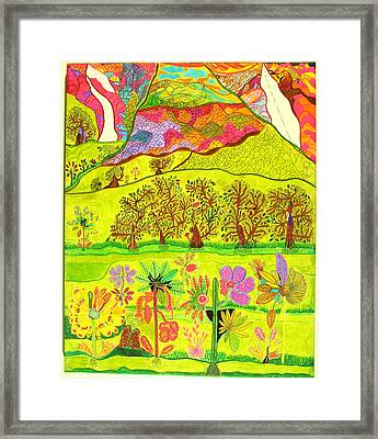 Paradise Framed Print by Eric Devan