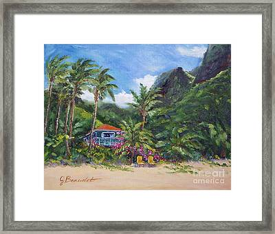 Paradise Found Framed Print by Jennifer Beaudet
