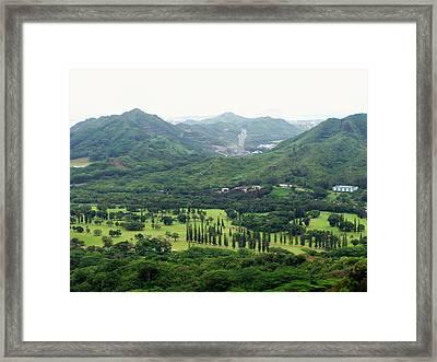 Paradise Hawaai Framed Print by Vijay Sharon Govender