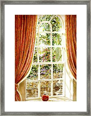 Paradise House In Bath England Framed Print