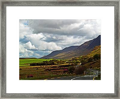 Paradise In Ireland Framed Print