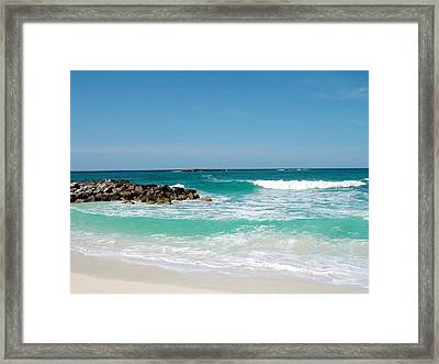 Framed Print featuring the photograph Paradise Island by Gary Wonning