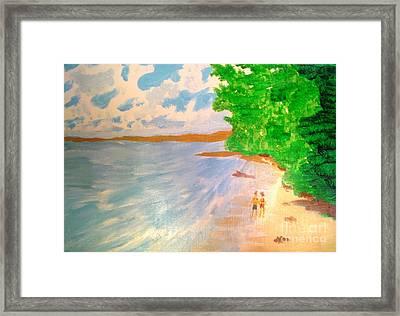 Paradise Island Framed Print by Josie Weir
