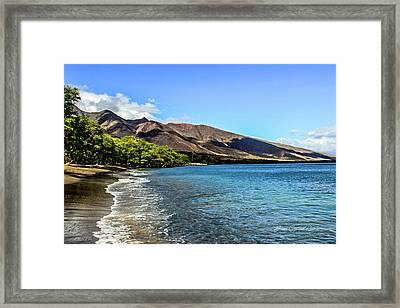 Framed Print featuring the photograph Paradise by Joann Copeland-Paul