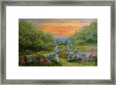Paradise Framed Print by Leea Baltes
