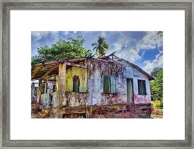 Paradise Lost Framed Print by Nadia Sanowar