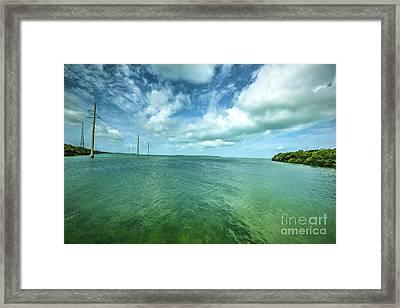 Paradise On Earth, Florida Keys Framed Print by Felix Lai