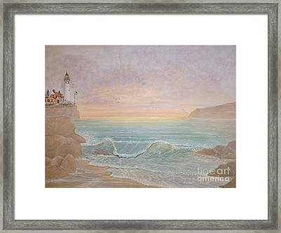 Paradise Framed Print by Patti Lennox