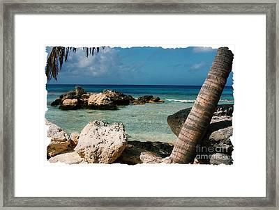 Paradise Rock Framed Print