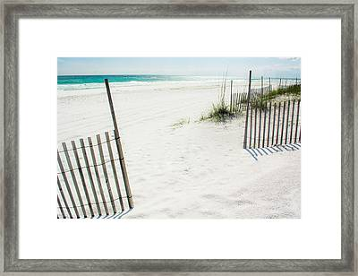 Paradise Scenery Framed Print by Shelby  Young