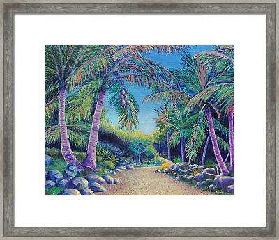 Framed Print featuring the painting Paradise by Susan DeLain