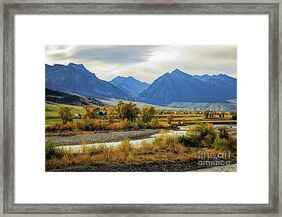 Paradise Valley Framed Print by Jon Burch Photography