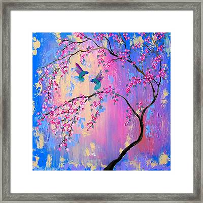 Paradise With You Framed Print
