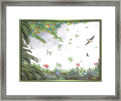 Paradise Without War Framed Print