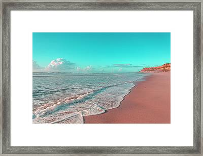 Paradisiac Beaches Framed Print