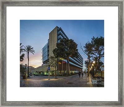 Parador De Turismo Cadiz Spain Framed Print