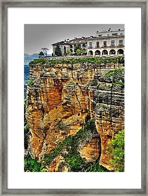 Parador Hotel Ronda - Andalusia Framed Print