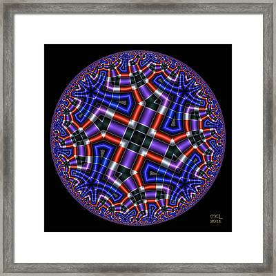 Paradoxical Intent Framed Print by Manny Lorenzo