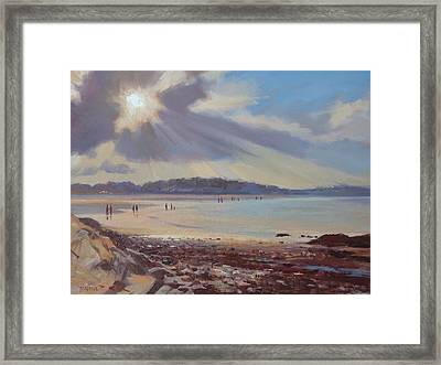 Paragon Sunset Framed Print