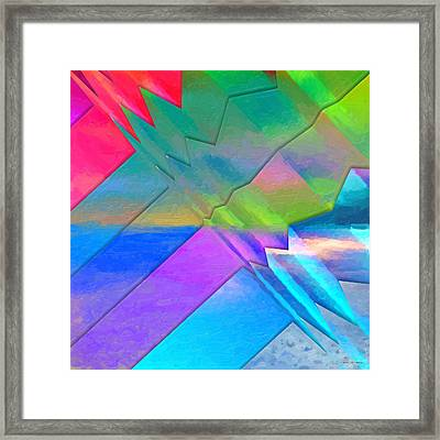 Parallel Dimensions - The Multiverse Framed Print by Serge Averbukh