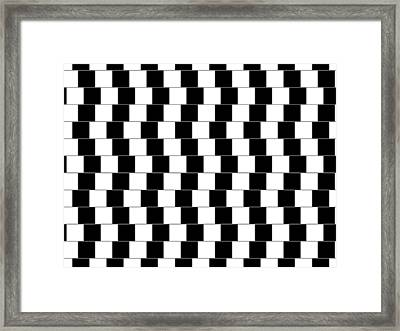 Parallel Lines Framed Print